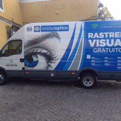 Imagem da notícia: Vende-se unidade móvel de rastreio visual