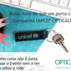Imagem da notícia: Lojas OPTICALIA promovem campanha da UNICEF