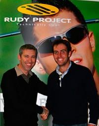 Imagem da notícia: Rudy Project: Molinari é imagem de marca