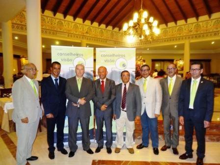 Imagem da notícia: Grupo Conselheiros da Visão no paraíso