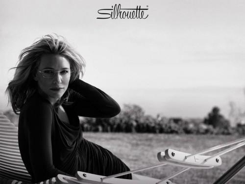 Imagem da notícia: Silhouette aposta no charme de Cate Blanchett