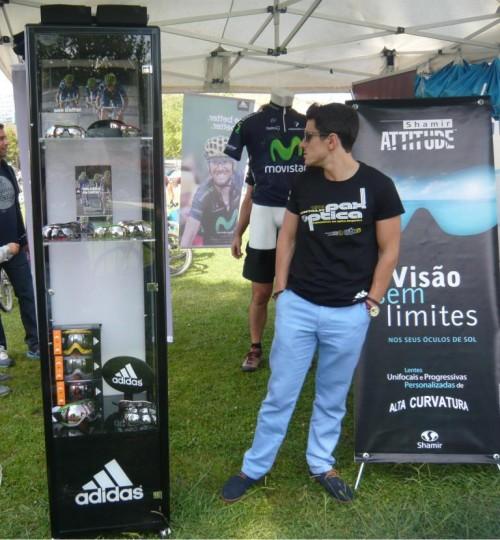 Imagem da notícia: Pax Óptica testa equipamentos adidas em maratona de BTT