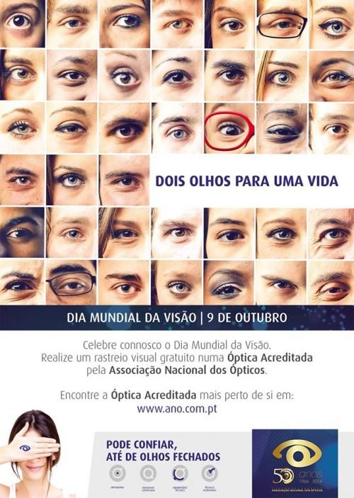 Imagem da notícia: Dia Mundial da Visão celebrado com rastreio gratuito