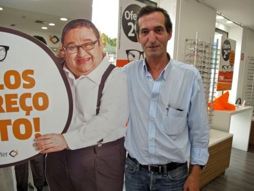 Imagem da notícia: Opticenter conta com Fernando Mendes