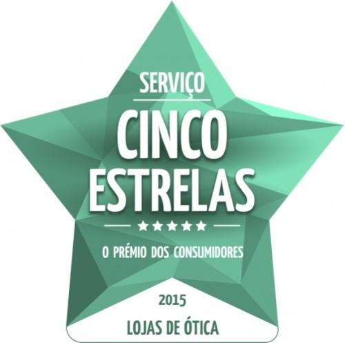 Imagem da notícia: Opticalia distinguida com prémio Cinco Estrelas