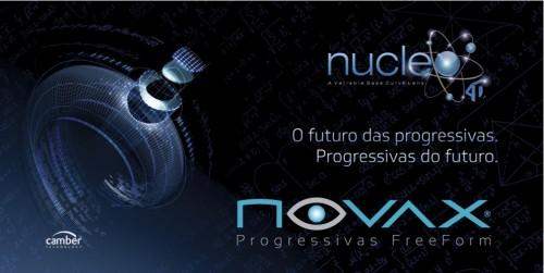Imagem da notícia: Nucleo 4D®, uma lente Novax