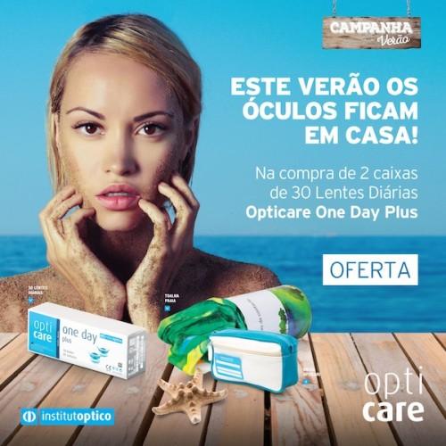 Imagem da notícia: Lançamento de lentes de contacto Opticare One Day Plus