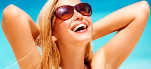 Imagem da notícia: Aconselhe o uso de óculos de sol de qualidade!