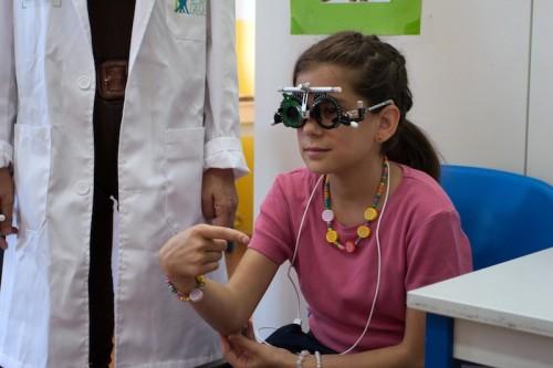 Imagem da notícia: União social cuida de saúde visual infantil