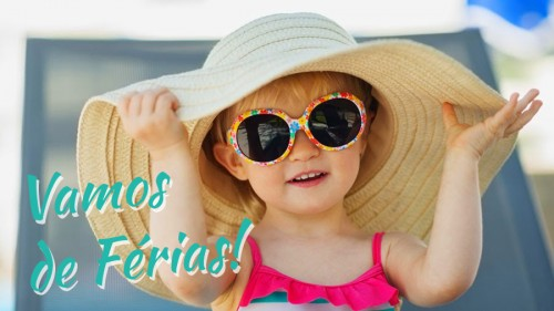 Imagem da notícia: Vamos de férias!