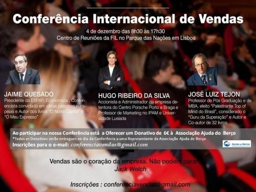 Imagem da notícia: Inscreva-se na Conferência Internacional de Vendas!