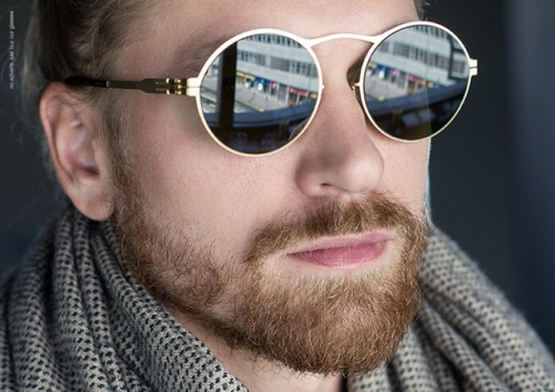 Imagem da notícia: ic! berlin apresenta os óculos Gülcin Ü
