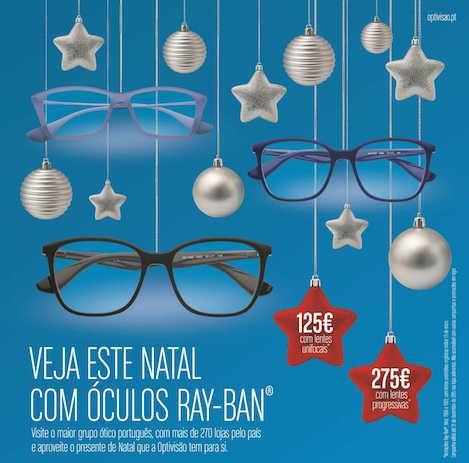 Imagem da notícia: Natal com Optivisão e Ray-Ban