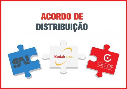 Imagem da notícia: KODAK, novo fornecedor de lentes da CECOP