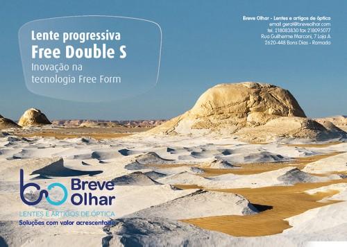"""Imagem da notícia: Breve Olhar anuncia lente progressiva """"Free Double S"""""""