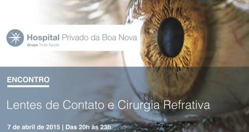 """Imagem da notícia: """"Lentes de Contacto e Cirurgia Refrativa"""" no Porto"""
