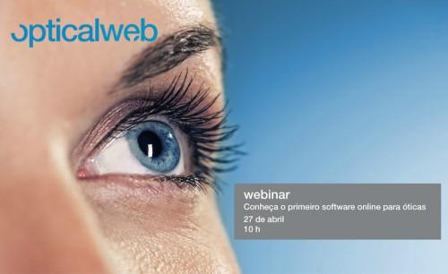 Imagem da notícia: Webinar – Conheça o primeiro software online para óticas