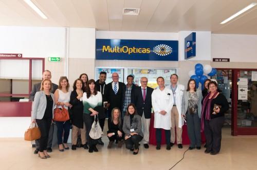 """Imagem da notícia: MultiOpticas """"instala-se"""" no Hospital Garcia da Orta"""