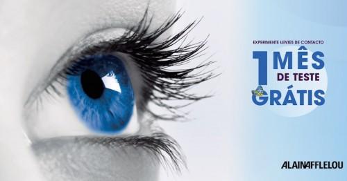 Imagem da notícia: Alain Afflelou oferece um mês de lentes de contacto