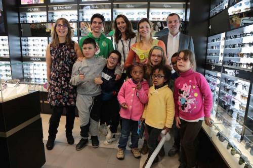 Imagem da notícia: Alain Afflelou, SIC Esperança e Fundação Sporting entregam óculos a crianças