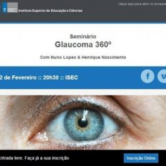 Imagem da notícia: Glaucoma 360º é já amanhã