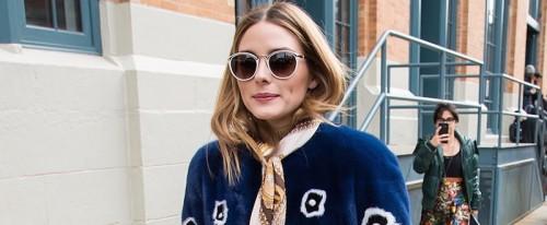 Imagem da notícia: Olivia Palermo escolhe óculos de sol Carolina Herrera New York
