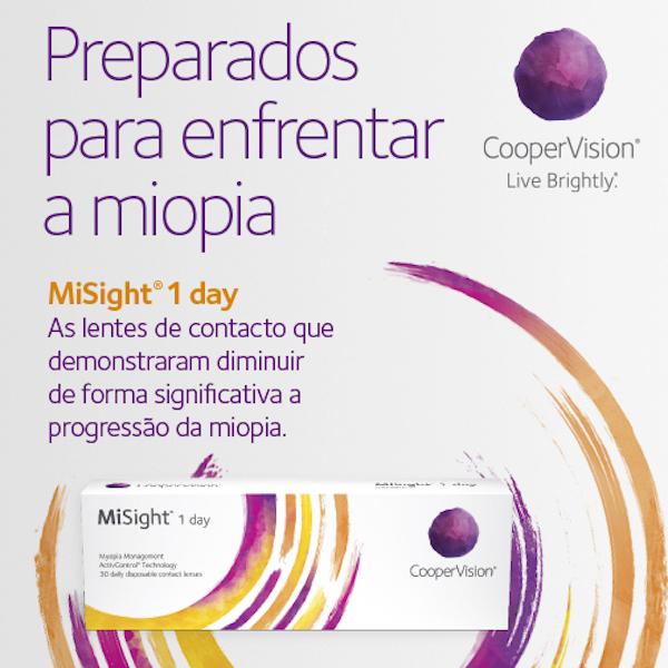 Imagem da notícia: Miopia: tratamento pioneiro com lentes de contacto