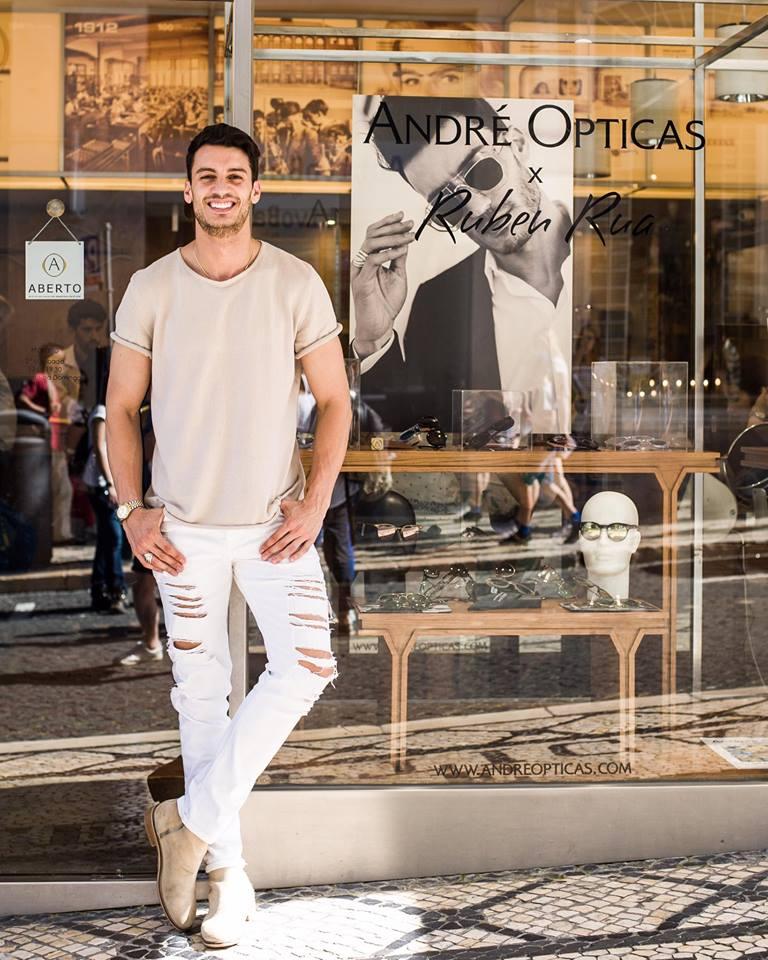 Imagem da notícia: Conhece os óculos de Ruben Rua?