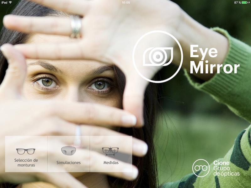 Imagem da notícia: Cione apresenta Eye Mirror