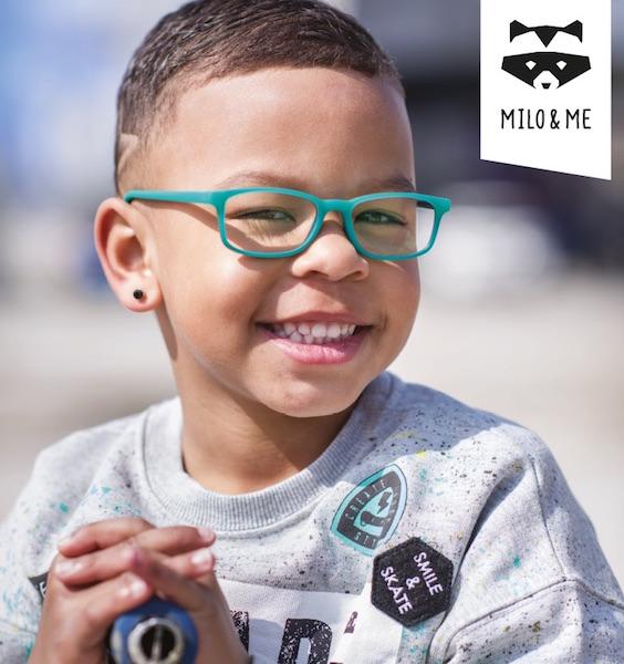 Imagem da notícia: Milo & Me: óculos robustos e divertidos