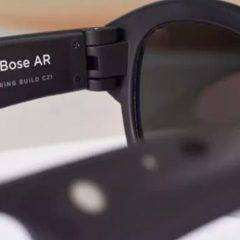 Imagem da notícia: Bose desenvolve óculos de realidade aumentada