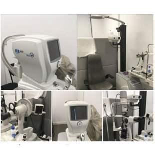 Imagem da notícia: Venda de gabinete completo de consultório de optometria