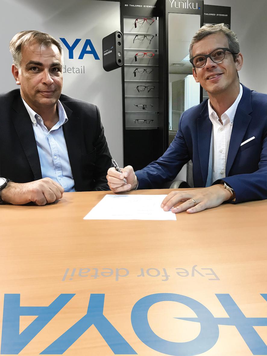 Imagem da notícia: Hoya e Luneau Tech assinam acordo de colaboração