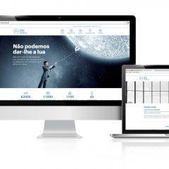Imagem da notícia: Website Cione agora em português