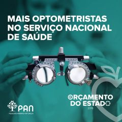 Imagem da notícia: PAN propõe a contratação de 61 optometristas para o SNS