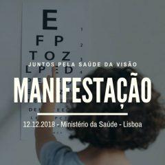 Imagem da notícia: Optometristas em luta protestarão dia 12 de dezembro