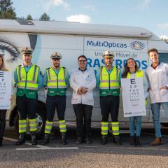 Imagem da notícia: MultiOpticas e GNR na estrada pela acuidade visual