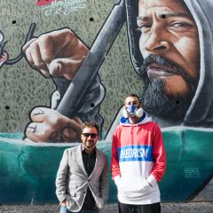 Imagem da notícia: O mundo da ótica grafitado por Mr. Dheo