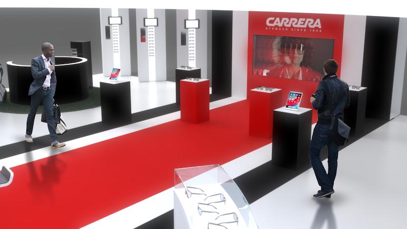 """Imagem da notícia: Sàfilo mostrou-se """"renovada"""" na Vision Expo East"""