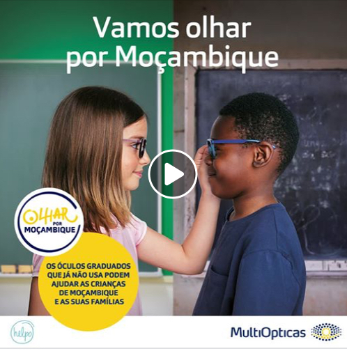 Imagem da notícia: MultiOpticas e Helpo olham por Moçambique