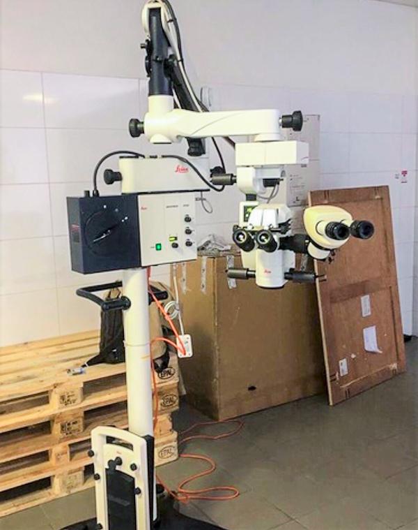 Imagem da notícia: Microscópio Cirúrgico Oftalmologia LEICA M501