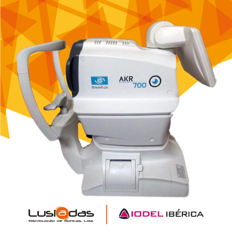Imagem da notícia: Vende-ser auto-refratómetro queratómetro Essilor AKR700