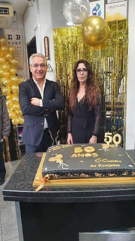 Imagem da notícia: Oculista da Pontinha comemorou 50 anos