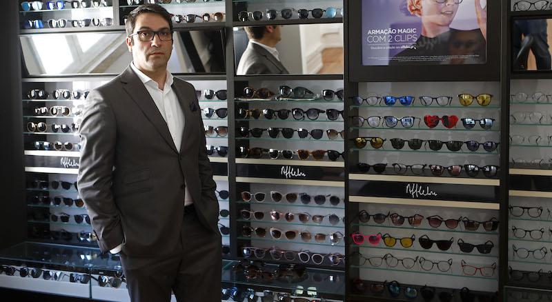Imagem da notícia: Alain Afflelou alerta para a proteção extra dos olhos