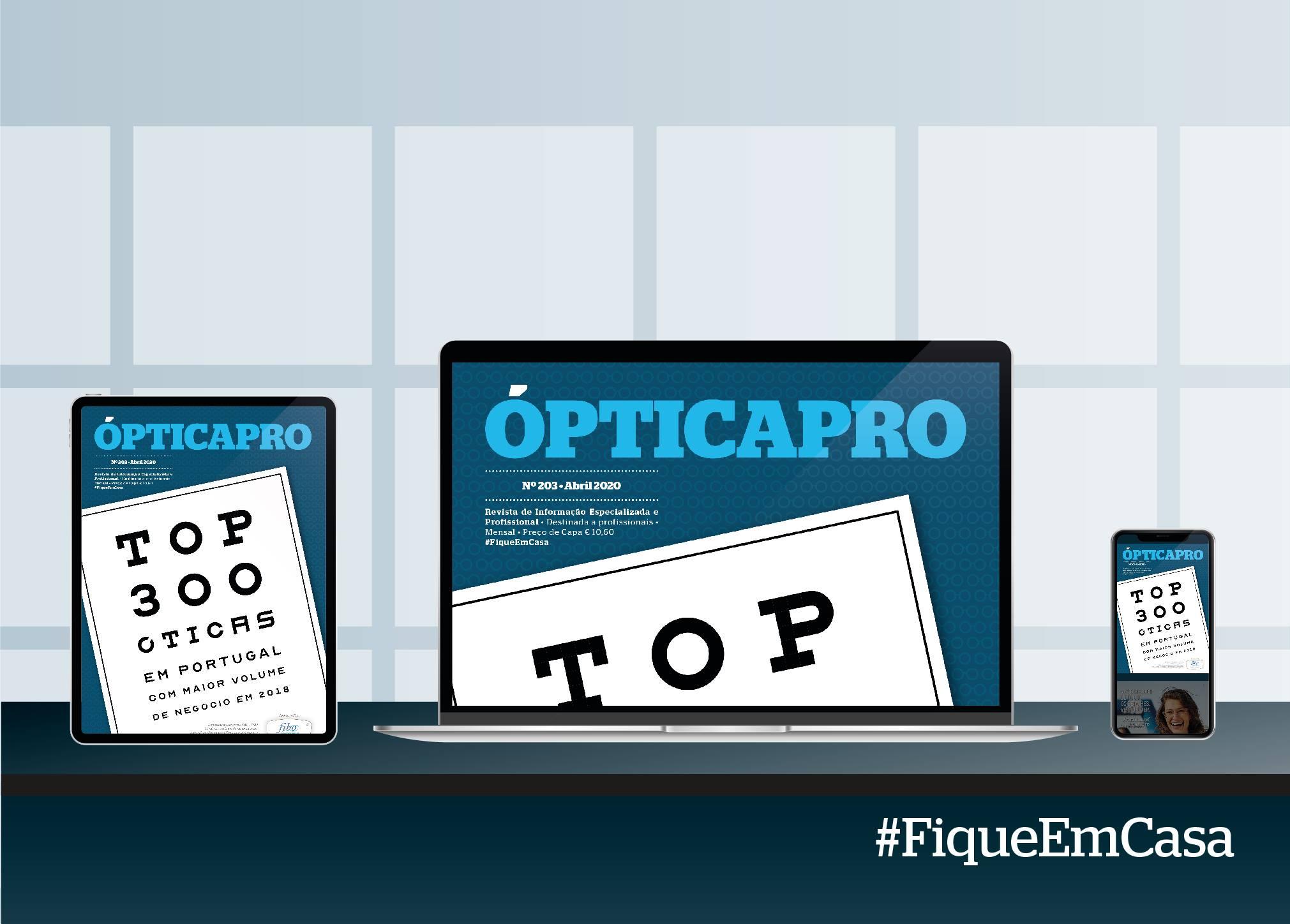 Imagem da notícia: A ÓpticaPro de abril está disponível em formato digital