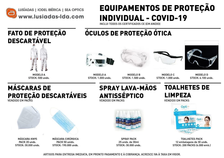 Imagem da notícia: Covid-19: Lusíadas disponibiliza gama de produtos
