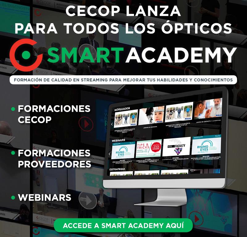 Imagem da notícia: CECOP lança Smart Academy para todos os óticos