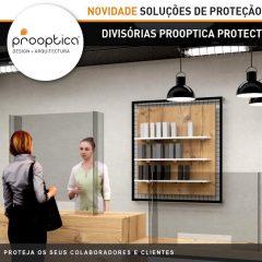 Imagem da notícia: Covid-19: criadas soluções de proteção Prooptica Protect