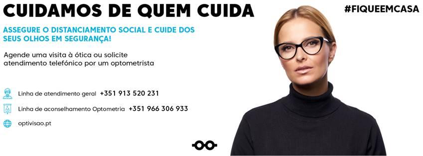 """Imagem da notícia: Optivisão inicia campanha """"Cuidamos de quem cuida"""""""