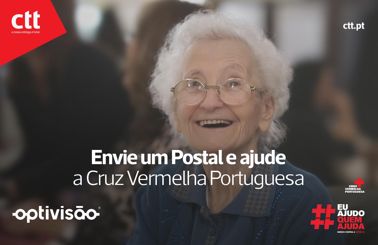 Imagem da notícia: Optivisão e CTT: digno de um postal que #ajudaquemajuda